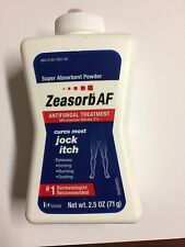 Zeasorb-Af Super Absorbent Antifungal Treatment Powder for Jock Itch 2.5 oz