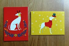 Tia Greyhound Rescue Pack of 6 Charity Christmas Cards