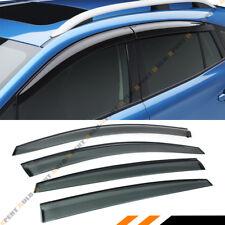 FOR 2017-19 SUBARU IMPREZA HATCHBACK 5DR SMOKE WINDOW VISOR RAIN GUARD DEFLECTOR