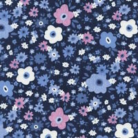 Timeless Treasures Tribeca Floral C4320 100% cotton fabric by the yard