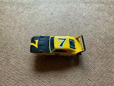 VINTAGE AFX AURORA YELLOW DODGE DAYTONA SUPERBIRD SLOT CAR