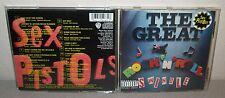 SEX PISTOLS Great Rock N Roll Swindle CD Johnny Rotten Steve Jones Punk Rock