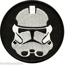 "Star Wars Imperial Storm Trooper Sew/Iron On 10"" Back Patch Badge Applique-New"