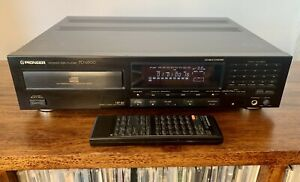 Pioneer PD-6500 CD Compact Disc Player + Remote + Instructions Rare Separate