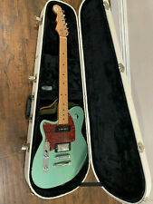 Reverend Double Agent OG Metallic Alpine RM Electric Left-Handed Guitar And Case