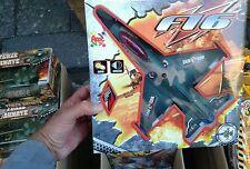 Aereo militare caccia f16 grande Kit gioco ottima qualita giocattolo toy