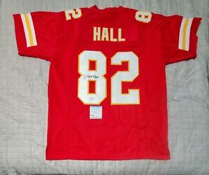 Kansas City Chiefs DANTE HALL Signed Autographed Football Jersey PSA COA size XL