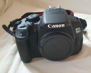 Canon EOS 700D solo corpo