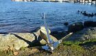 Boat folding Anchor Grapnel 3.2 kg / 7 lb Stainless Steel mirror finish