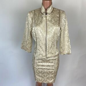 Lafayette 148 New York Womens Harlow Tweed Two-Button Blazer Jacket BHFO 2141