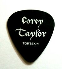 COREY TAYLOR // 2011 Tour Guitar Pick // Black/Silver Stone Sour Slipknot SINNER
