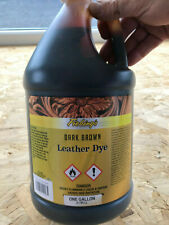 Fieblings Leather Dye - 1 gallon DARK BROWN - For all leather projects