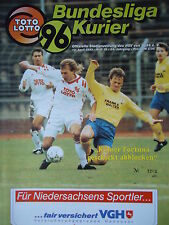 Programm 1992/93 Hannover 96 - Fortuna Köln
