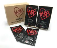 Fabb Sofas LEATHER Care Kit, Cleaning & Protection, Sofa Care Leather. Easy Use.