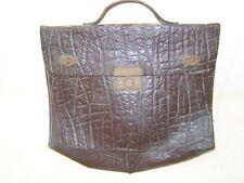 Alte Aktentasche, Leder Tasche antik, Ledertasche, vor 1945, Deko