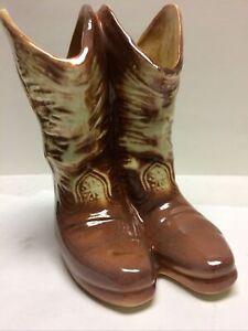 Vintage McCoy Cowboy Boots Planter