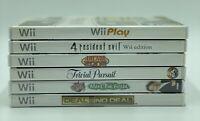 Nintendo Wii Games Lot