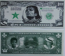 "Micheal Jackson ""Million Dollar"" Commemorative  Novelty Bill"
