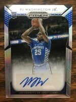 2019-20 Panini Prizm PJ Washington Jr #12 Silver Rookie Auto Hornets UK