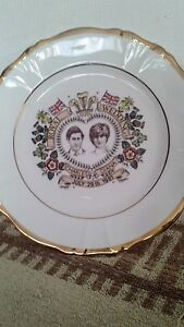 Prince Charles & Lady Diana commemorative wedding plate in Excellent Condition