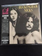 Buckingham Nicks ( Japan Edition ) - Same  mini lp style CD 2017 NEU 21 Tracks !