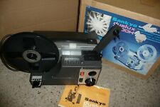 Cine film projector SANKYO dualux 2000H super 8 & std 8mm INFORMATION + BOX