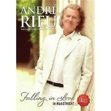 ANDRE RIEU FALLING IN LOVE IN MAASTRICHT DVD (2016)