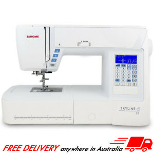Janome Skyline S3 - Computerised Sewing Machine - NEW, 7mm, High-End, Quilting