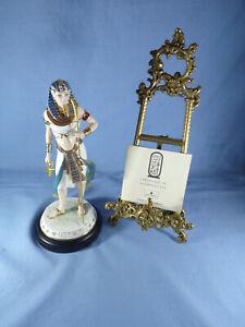 Ltd Ed Wedgwood Tutankhamun Figure The Boy King Legends Of The Nile 3299/9500