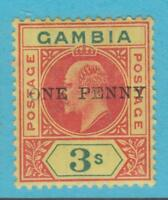 GAMBIA 66 MINT HINGED OG *  NO FAULTS EXTRA FINE !