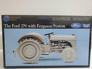 Ford 2N w/ Ferguson System #2 Precision Farm Tractor 1/16 Ertl New in Box