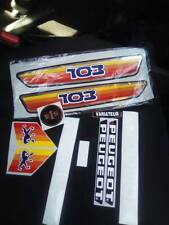 kit autocollant peugeot 103 sp