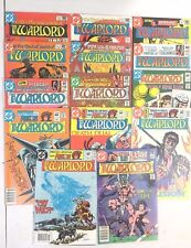WARLORD #42,43,45,46,49-53,58-62 LOT OF 14  MIKE GRELL  BRONZE AGE VF-NM