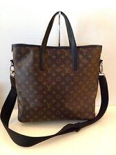 Authentic Louis Vuitton Mono Macassar Canvas Davis Tote Bag. Ex Cond