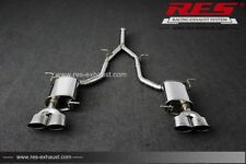 RES Valvtronic Catback +2 Tips Each Side FOR Benz (R172) SLK200 2012-2015 1.8T