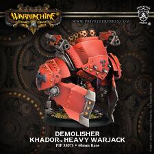 Warmachine BNIB-Khador Demolisher Devastator spriggan (1) De Plástico