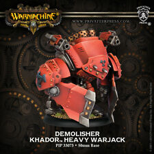 Warmachine BNIB - Khador Demolisher Devastator Spriggan (1)    PLASTIC
