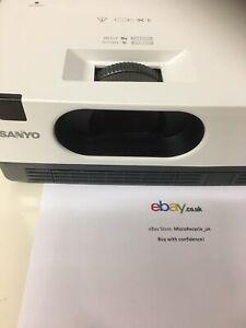 SANYO PLC-XW250 Portable XGA LCD Projector with Speaker - 2600 lumens NO LAMP