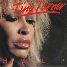 "TINA TURNER  Help PICTURE SLEEVE 7"" 45 rpm record + juke box title strip NEW"