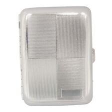 Metal Embossed Cigarete Case ------- Engraved Silver Design, Holds 16 Cigarettes