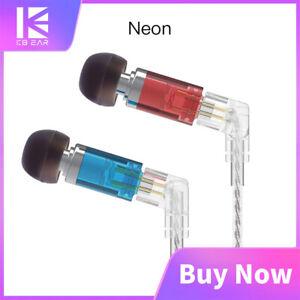 KBEAR Neon Knowles Single Balanced Armature Noise Cancelling In-ear Earphones