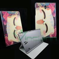 Custodia GATTO per Samsung Galaxy Tab S 8.4 T700 T705 flip cover STAND gatti CAT