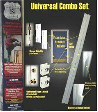 """ARMOR Door Security Jamb Repair Kit Prevent Break-ins Hinge Door Shields 2-3/4"""""""