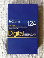 Sony BCT-D124L Digital Beta tape - New