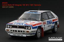 1:43 HPI DIECAST #8229 Lancia Delta HF Integrale 16V (#1) 1991 Sanremo
