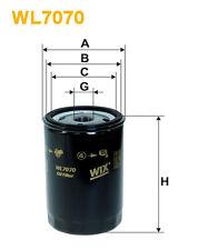WIX WL7070 Filtro de Aceite - Spin-On Recambio W7195 PH2870A AW29