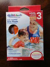 Swim School Dual Chamber Arm Floats Level 3 30-55lbs