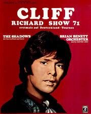 Cliff Richard Show 71 ORIGINAL Konzertplakat 1971 The Shadows ZUSTAND BEACHTEN