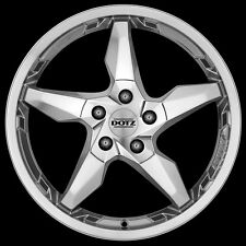 1 Satz Dotz Touge Blaze 8x19 LK5x120 ET35 Ball Polishing passend für BMW-Modelle