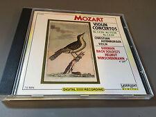 MINT MOZART Violin Concertos Christian Altenburger Violin Bach Soloist (CD,1988)